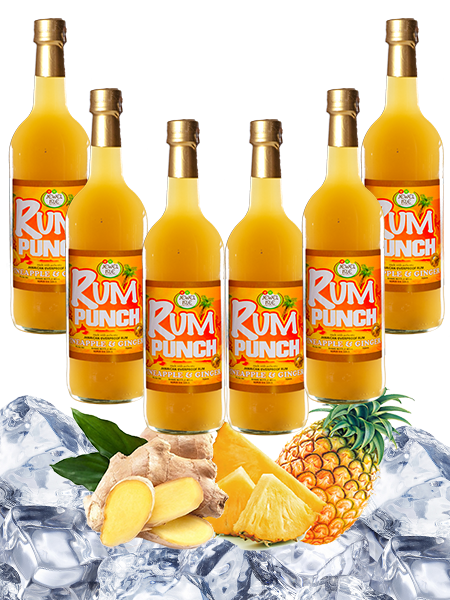 Jewel isle Rum Punch Pineapple and Ginger 6-pack 750ml