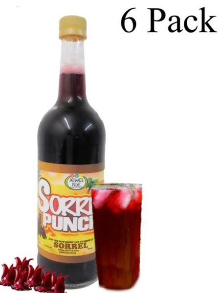 Sorrel Jewel Isle Rum Punch