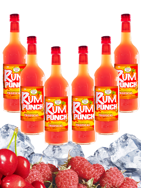 Jewel Isle Rum Punch Tropical 6-pack 750ml