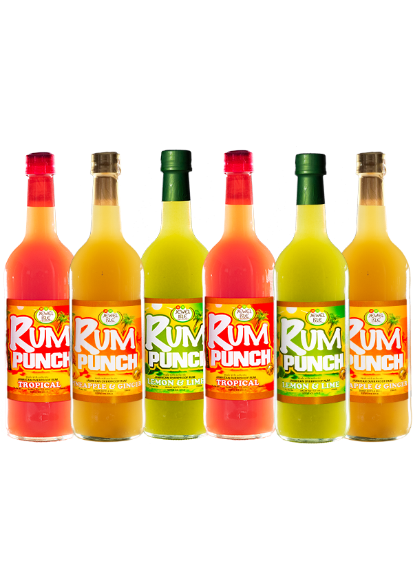 Jewel Rum Punch Pack-6-Mixed-750ml
