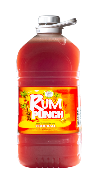 Tropical Jewel Isle Rum Punch 5L