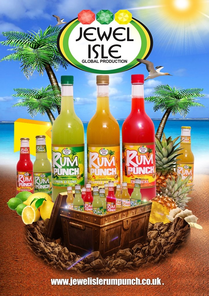 Jewel Isle Rum Punch