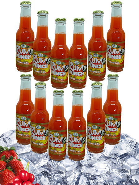 Double Strength Tropical Rum Punch - 12 pack - 200ml