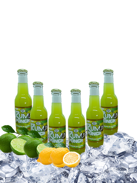 double strength lemon and lime Rum Punch -6-pack-200ml