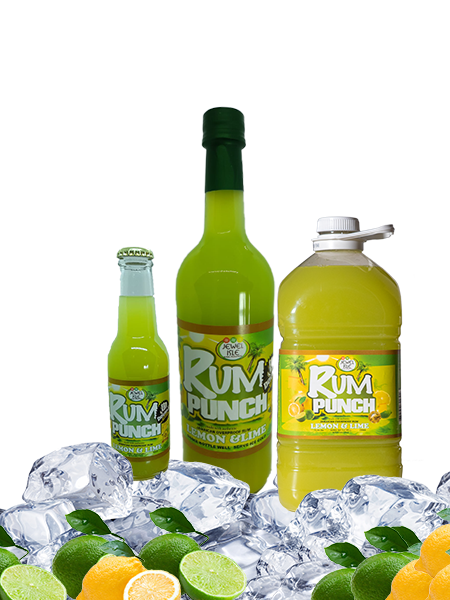 Lemon and Lime Jewel Isle Rum Punch