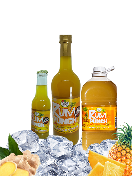 Pineapple and Ginger Jewel Isle Rum Punch